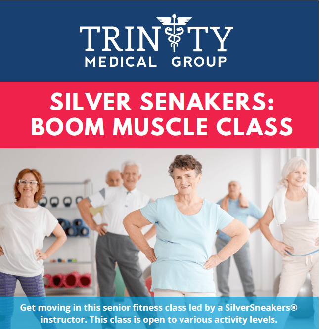 Silver Sneakers Muscle Boom Class